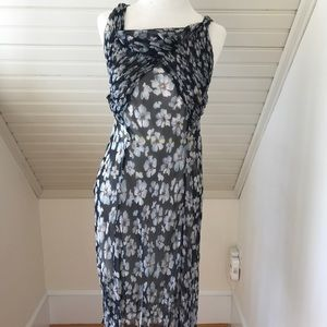 Marni floral slip dress